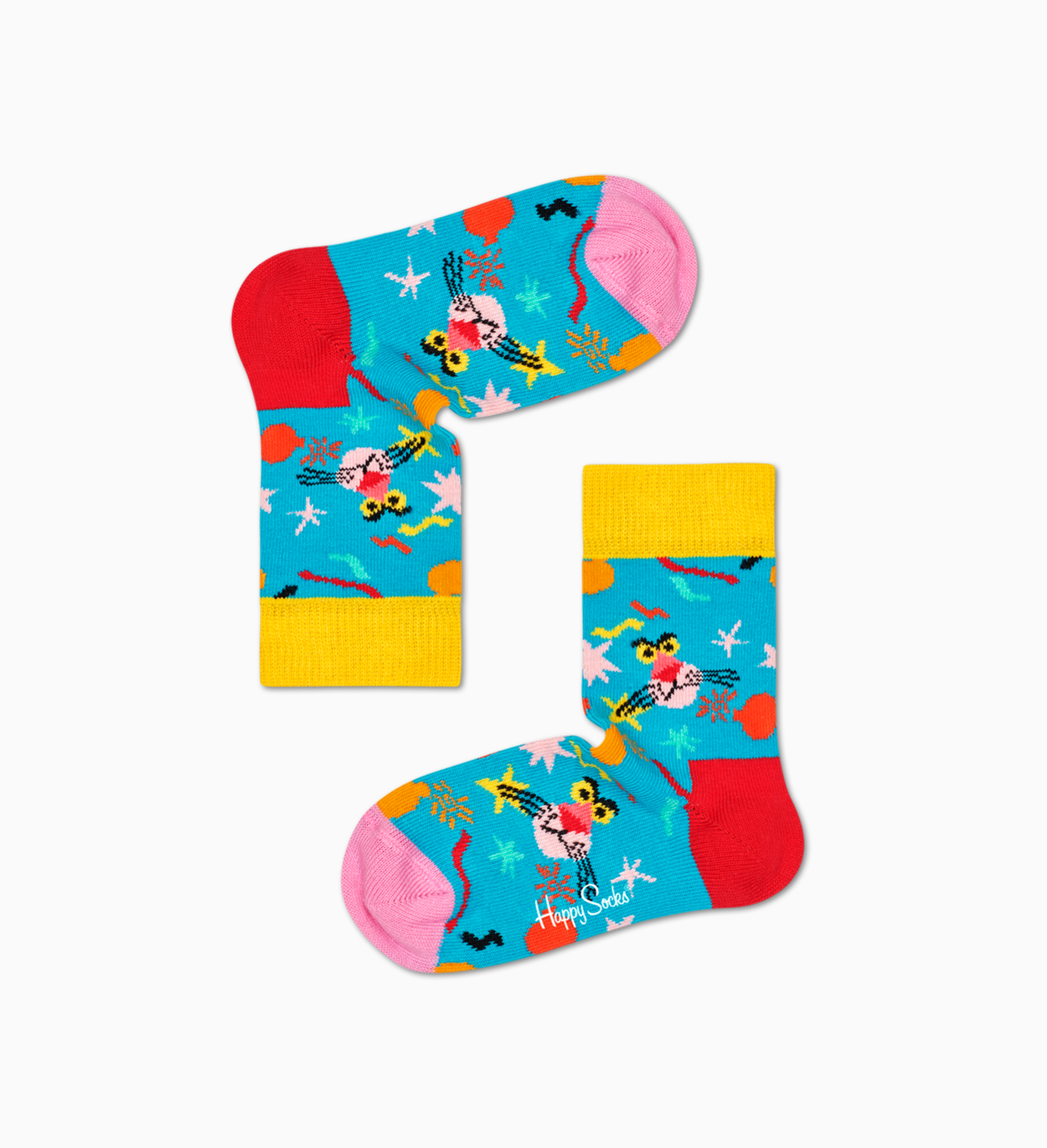 Happy Socks x Pink Panther:  Kids Sock Box Set