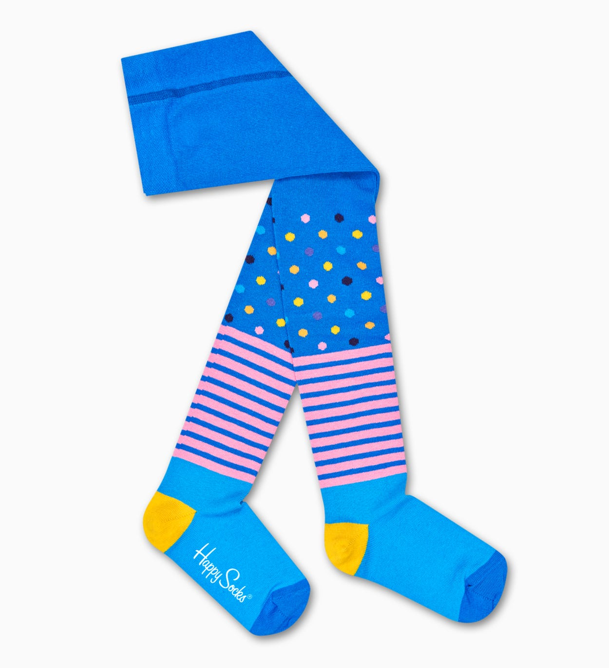 Kids Stripes And Dots Tights