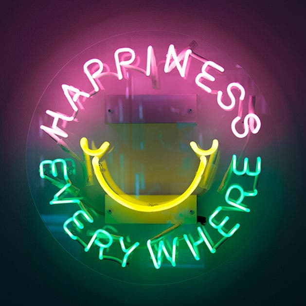 Happiness everywhere