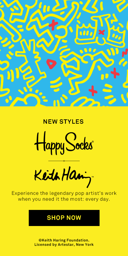 Happy Socks - Funky Colorful Socks For Men, Women & Kids