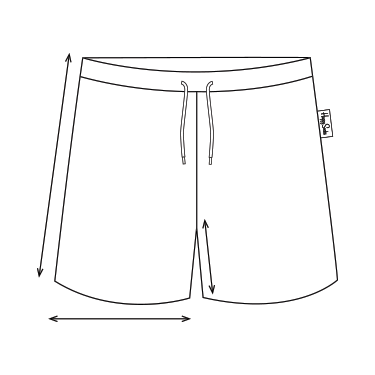 Swim Shorts - Size Guide how to measure